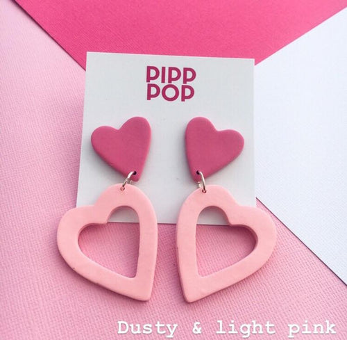 Big Love Dusty and Light Pink-Pipp Pop