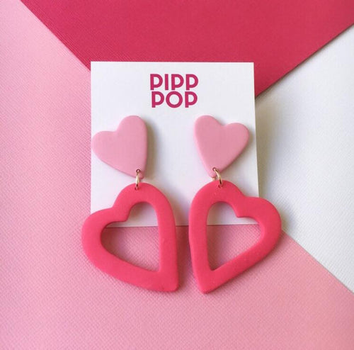 Big Love Pink and Raspberry Pearl-Pipp Pop