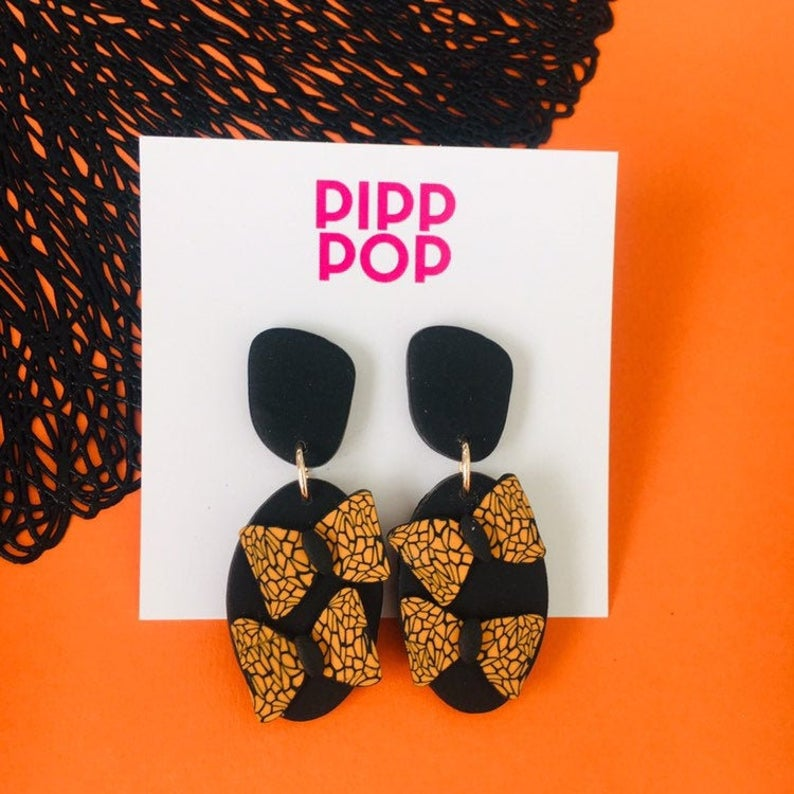 Monarch Butterfly Dangle-Pipp Pop