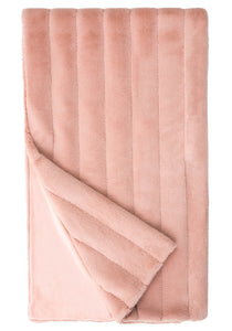 MAUVE  POSH THROW