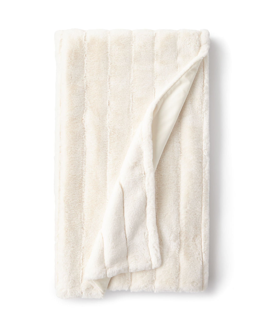 IVORY POSH THROW -FABULOUS FURS