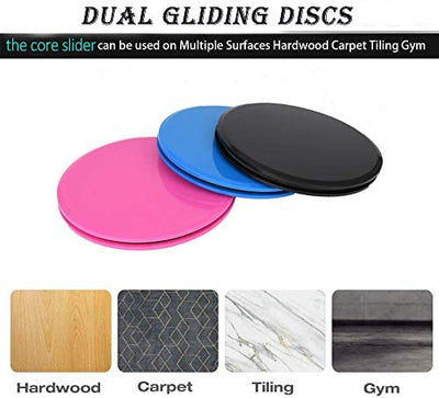 4 Da Culture Global  Core Slider Workout Dual Sided Gliding