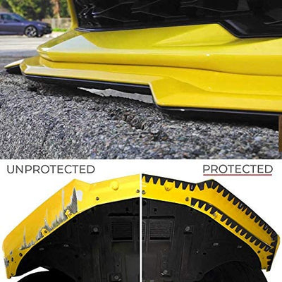 ALL PRO  Universal Bumper Protector Scrape Guard Skid Plate  by sliplo DIY Kit: