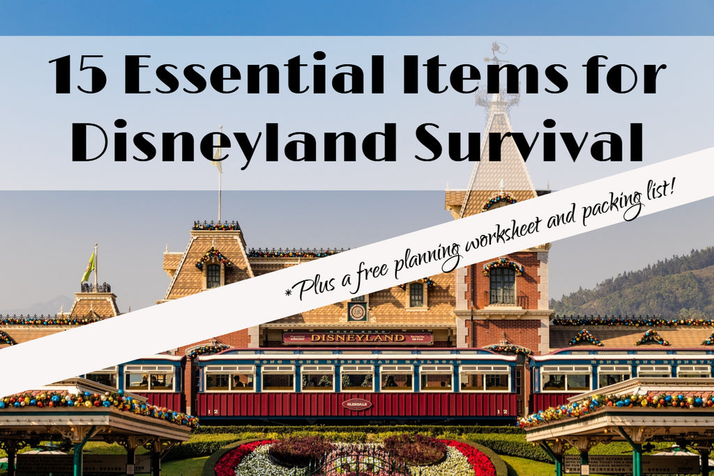 15 Essential Items for Disneyland