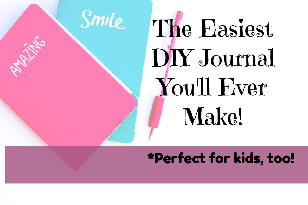 Easy DIY Journal from a composition book