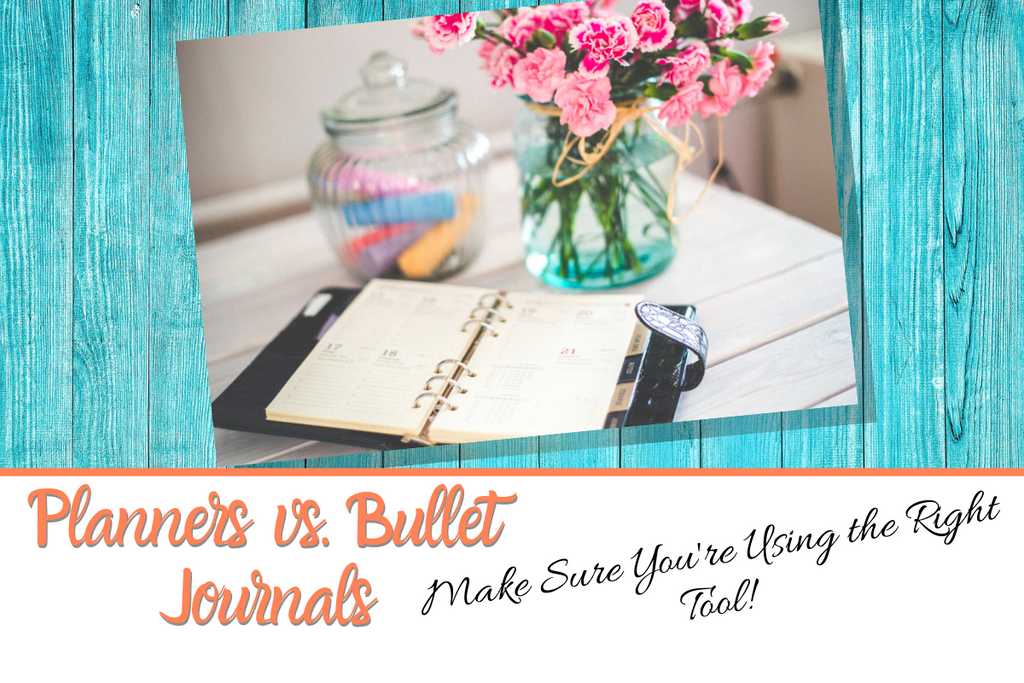 Planners vs bullet journals