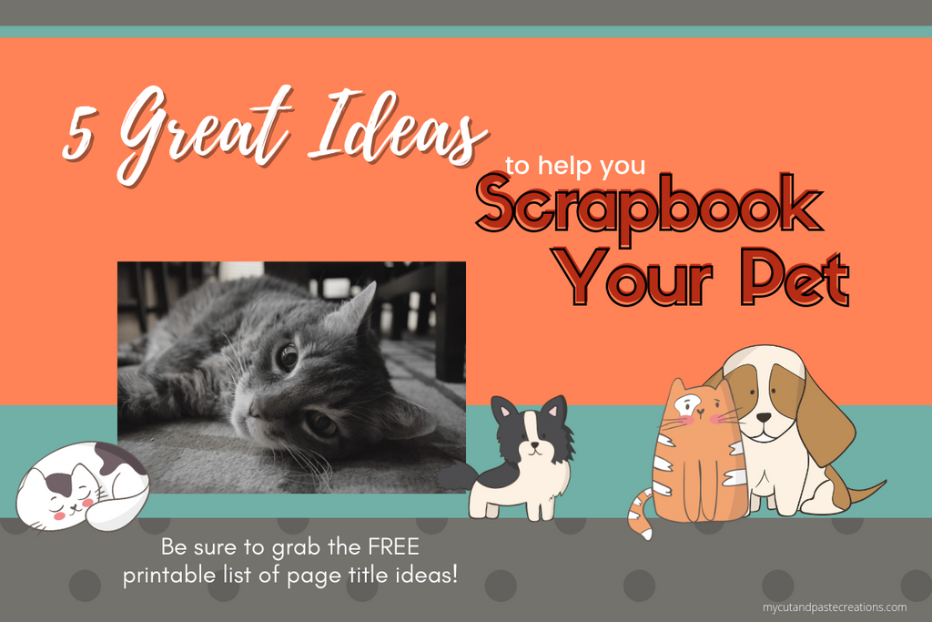 Scrapbook your pet