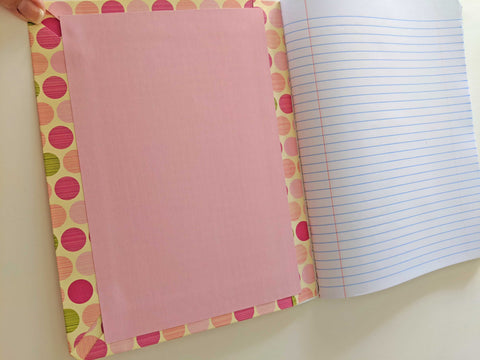 Composition Book Journal tutorial