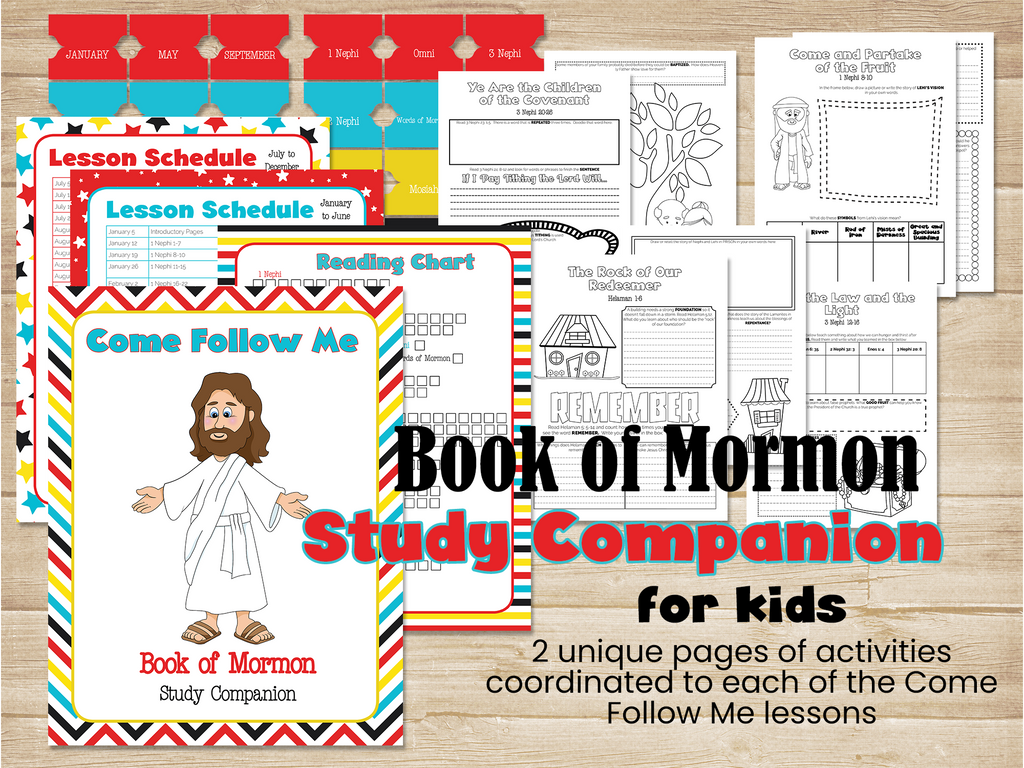 Book of Mormon Study Companion Bundle