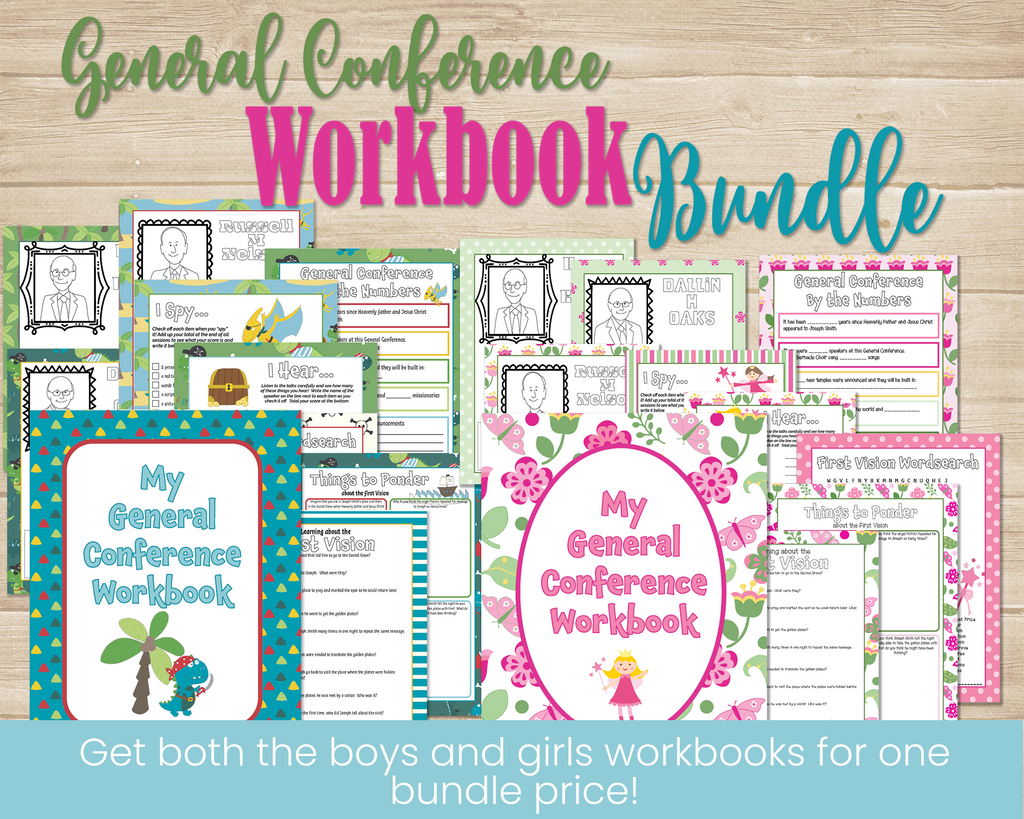 General Conference Workbooks for kids