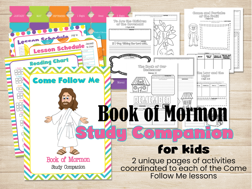 Book of Mormon Study Companion kids