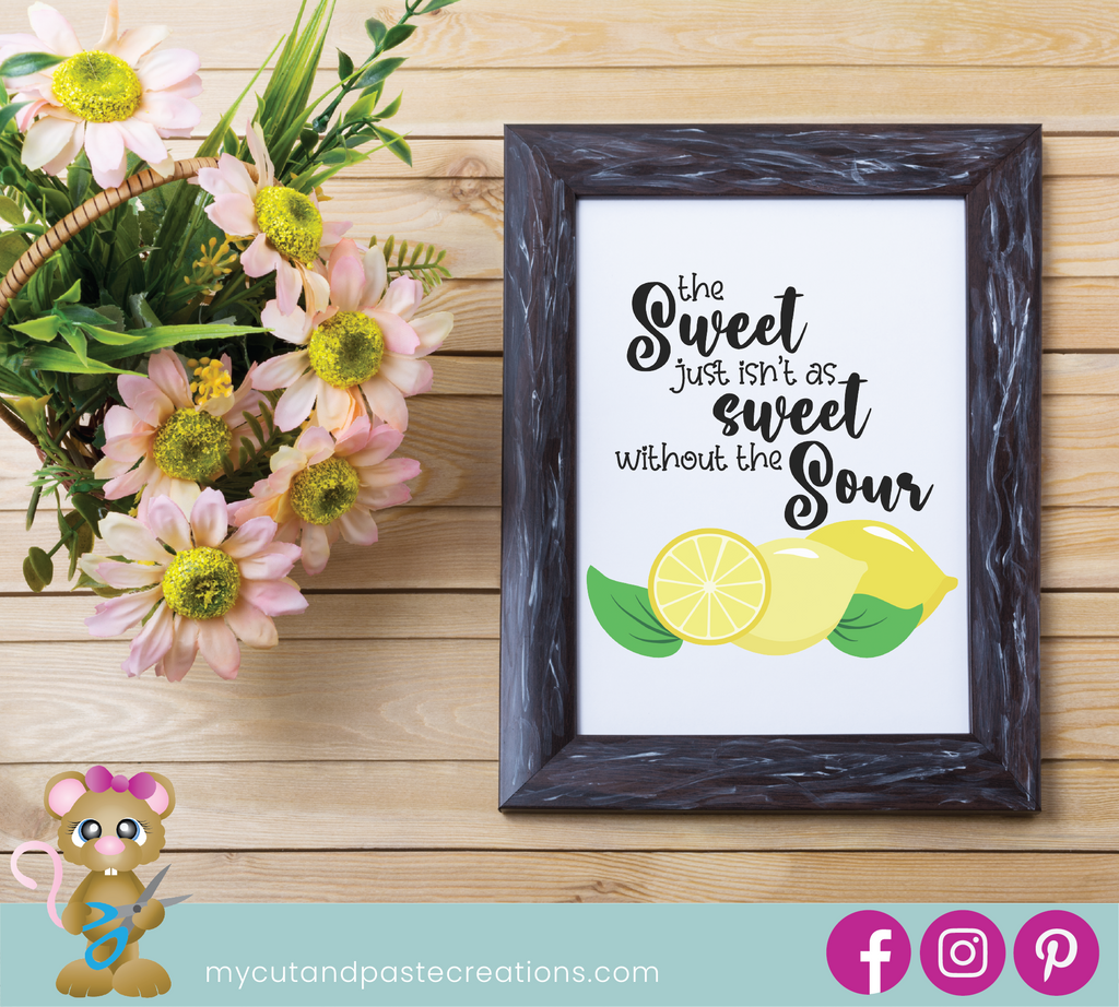 Sweet and Sour Lemon SVG