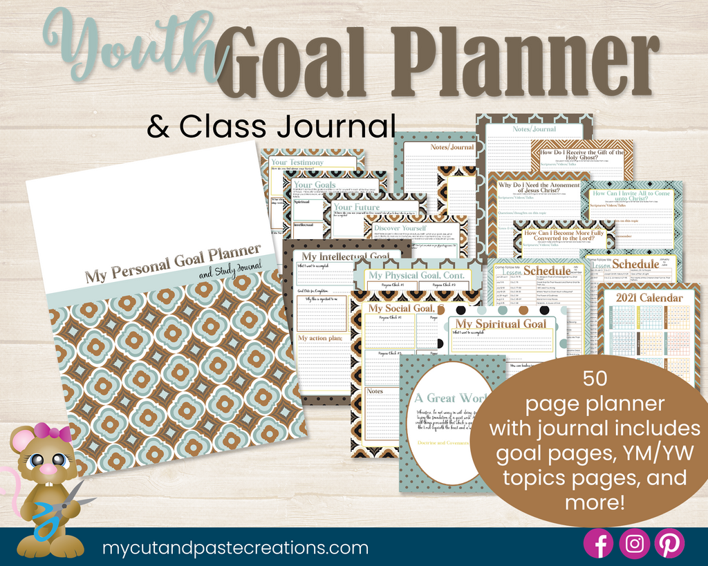 Children and Youth Goal Planner