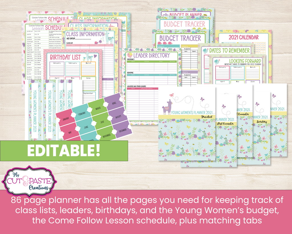 Young Women's Planner 2021