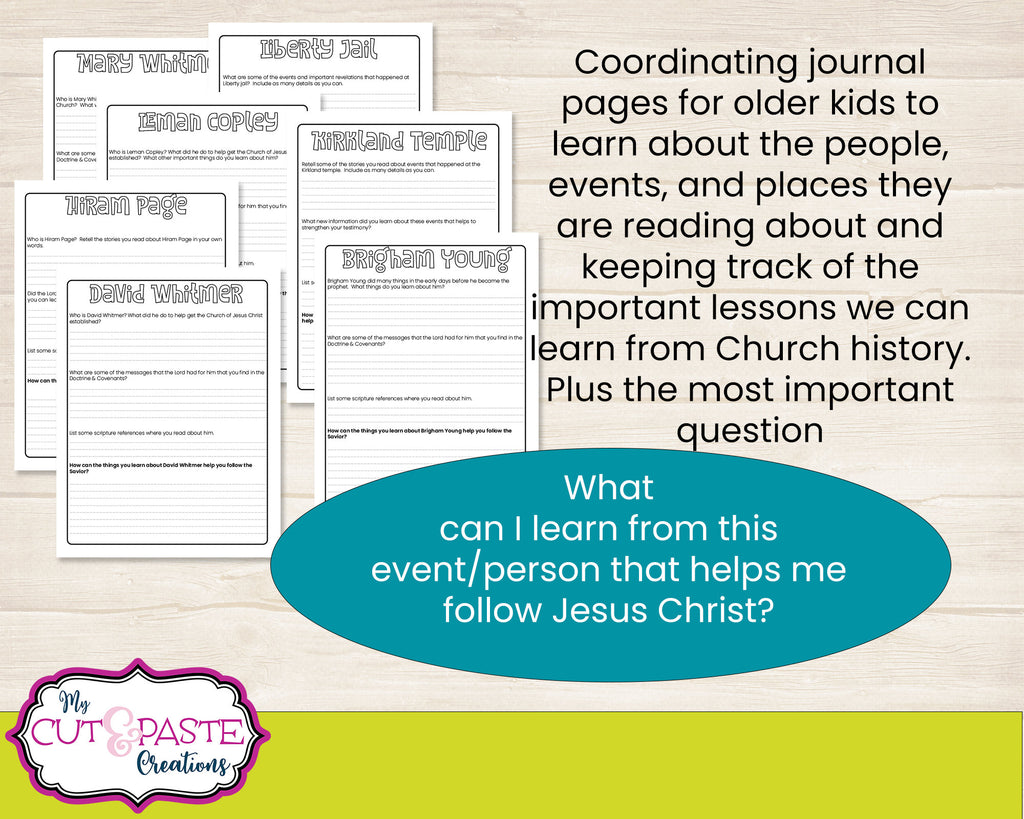 Come Follow Me 2021 BUNDLE  - Doctrine and Covenants Workbooks for kids - Kids LDS journal - Come Follow Me Journal - D&C 2021 coloring book