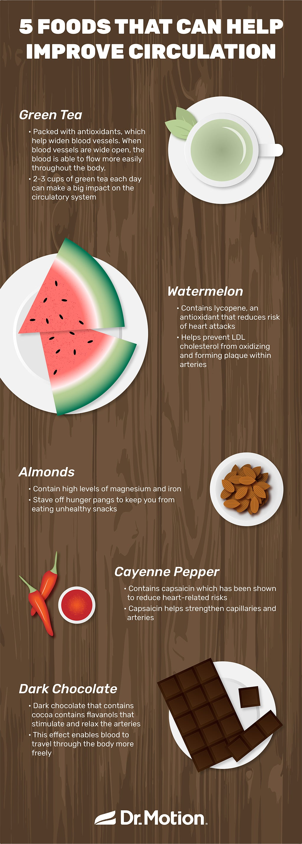 Foods That Improve Circulation