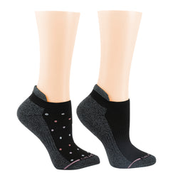 Tri Color Dots | Ankle Compression Socks For Women