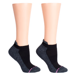 Solid Half-Cushion | Ankle Compression Socks For Women