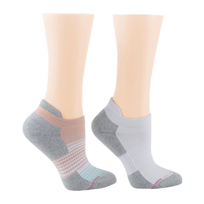 Ombre Stripe | Ankle Compression Socks For Women