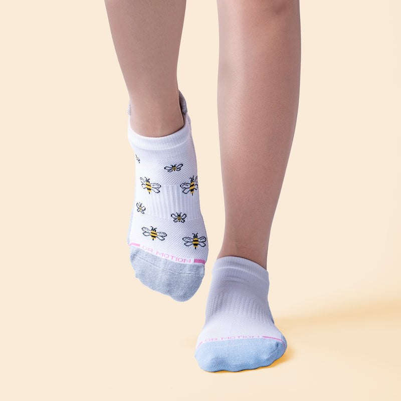 Bee | Ankle Compression Socks For Women