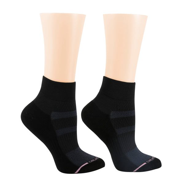 Solid Half-Cushion | Quarter Compression Socks For Women
