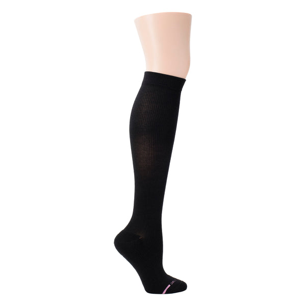 Solid Half-Cushion | Knee-High Compression Socks For Women