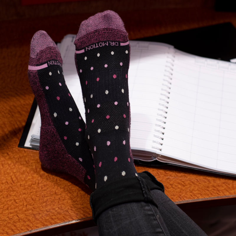 Dots | Knee-High Compression Socks For Women