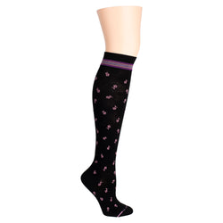 Tonal Ditsy Daisy | Knee-High Compression Socks For Women