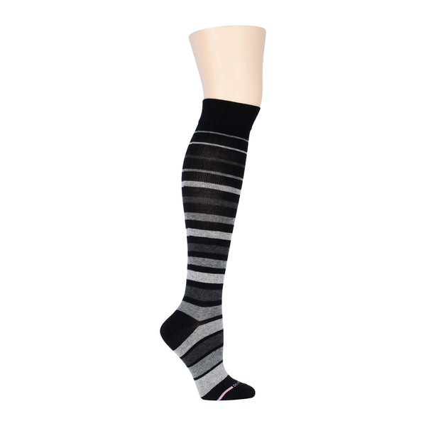 Block Stripes | Knee-High Compression Socks For Women