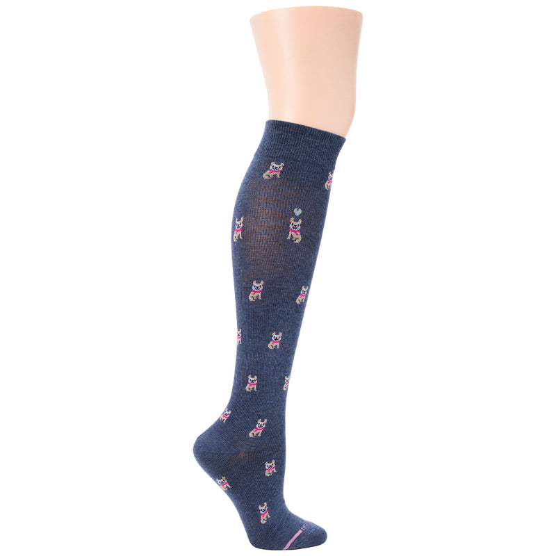 French Bulldog | Knee-High Compression Socks For Women