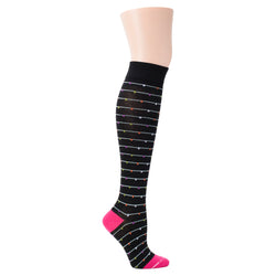 Funfetti | Knee-High Compression Socks For Women