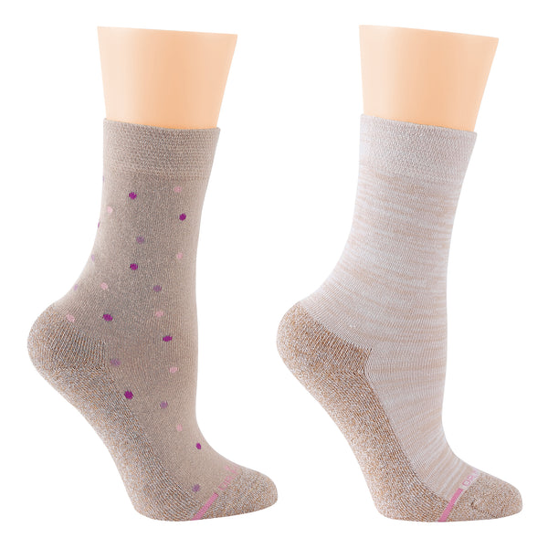 Dot | Comfort Top Half-Cushion Socks For Women