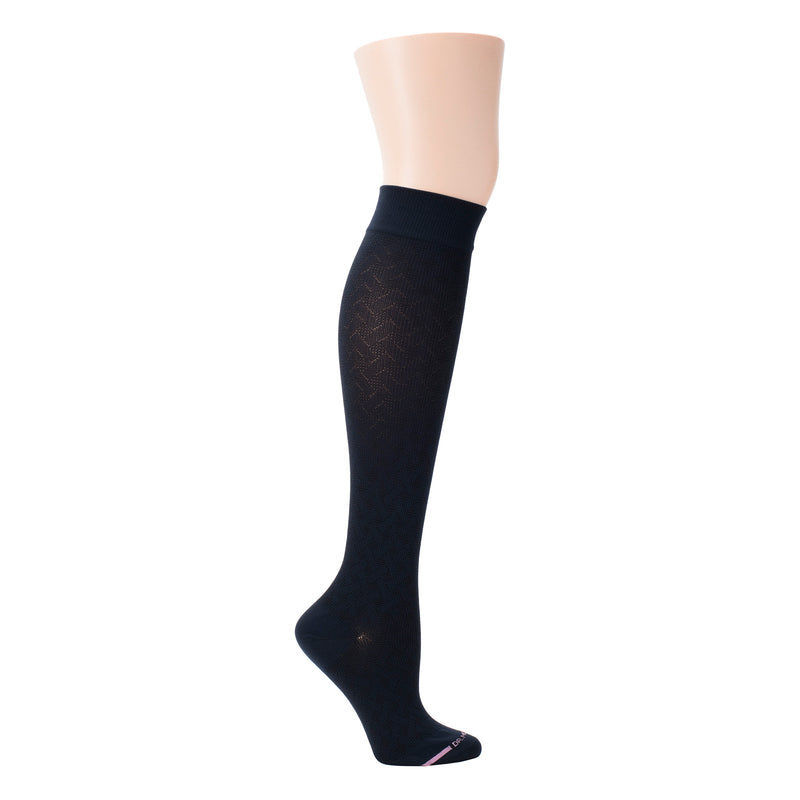 Basket Weave | Knee-High Compression Socks For Women
