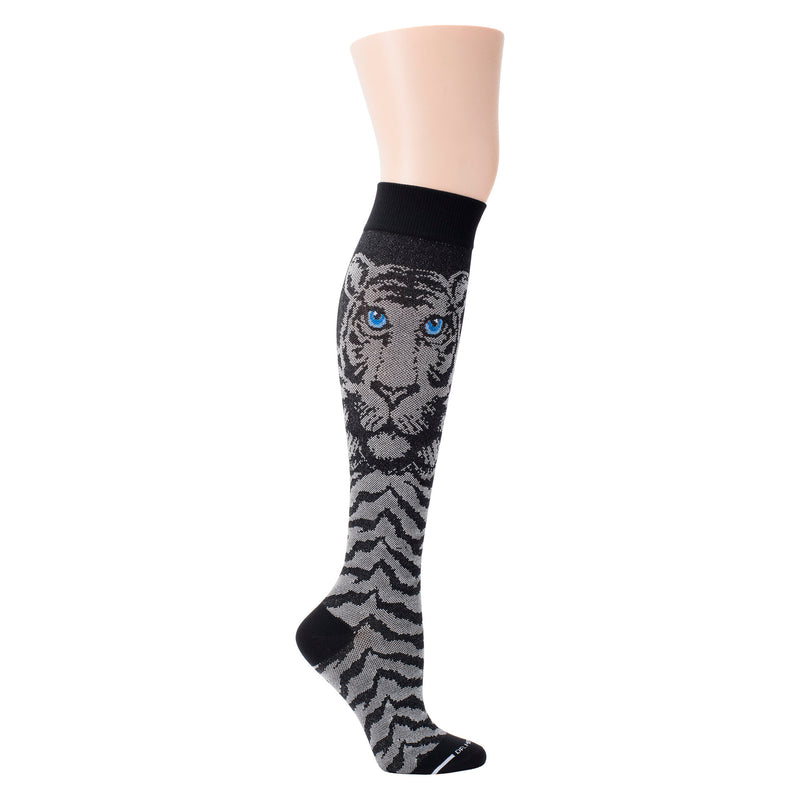 Tiger | Knee-High Compression Socks For Women