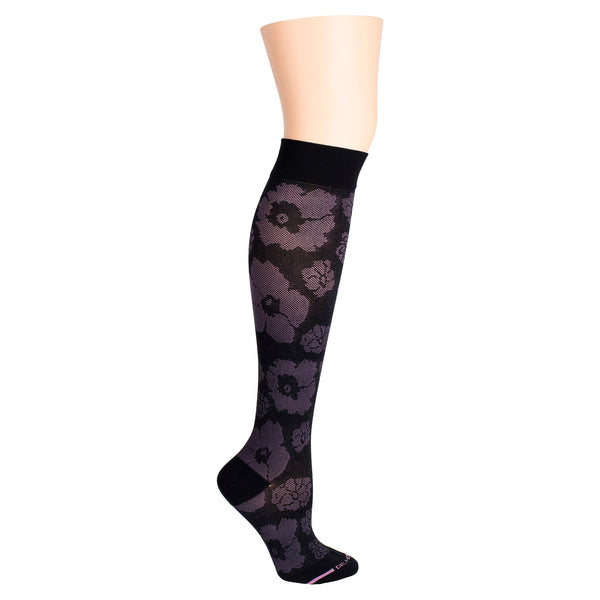 Merimekko Flower | Knee-High Compression Socks For Women