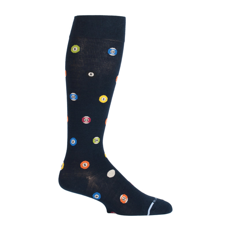 Pool Balls | Knee-High Compression Socks For Men