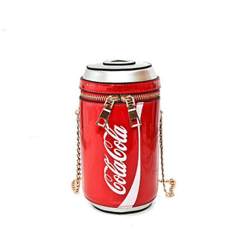 Cola cans shoulder bags  personality fashion