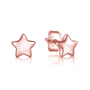 925 Sterling Silver Stars Moon Exquisite earrings