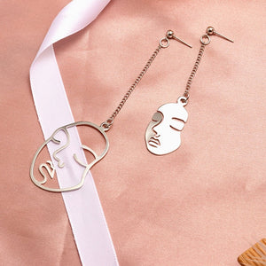 X&P Round Dangle Drop Earrings For Women