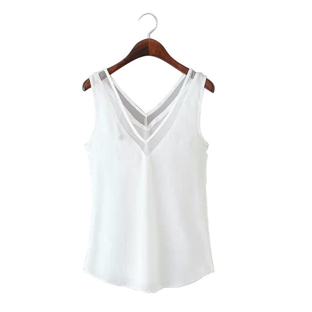 New Summer fashion hollow T-shirts for women