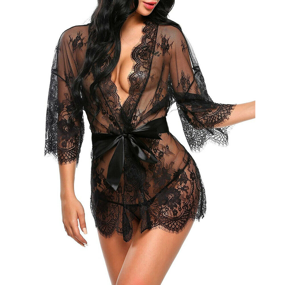 Sexy Lingerie Underwear Babydoll or Bikini Cover Up