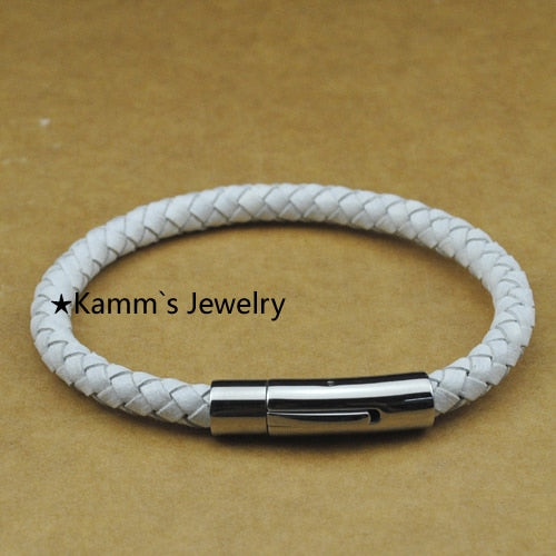 White Stainless steel Bracelet