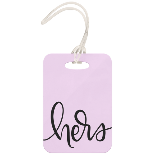 Hers Luggage Tag