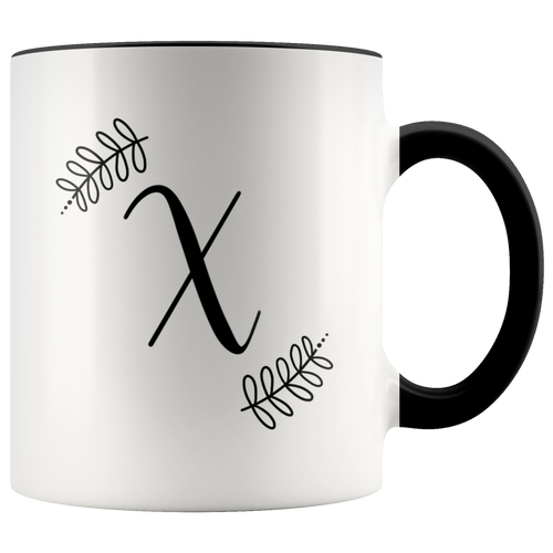 Monogram Coffee Mug - X