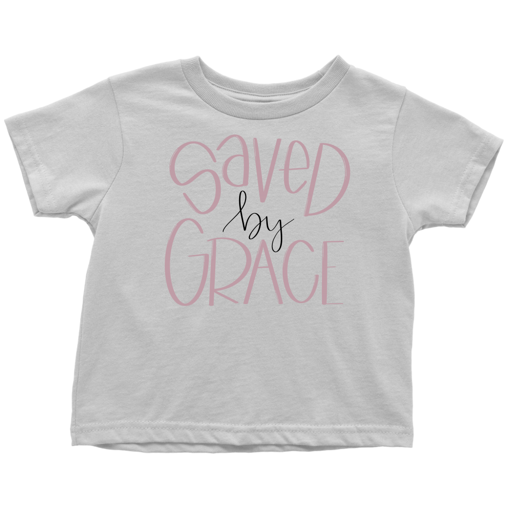 Saved by Grace Toddler Tee