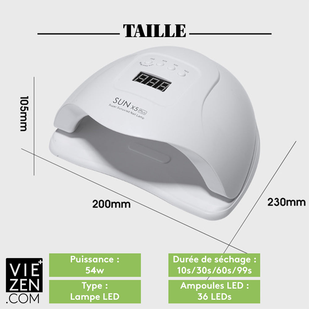 Lampe led sèche-ongles