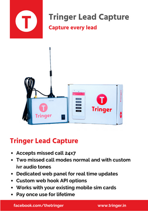 Tringer Lead Capture - capture every lead