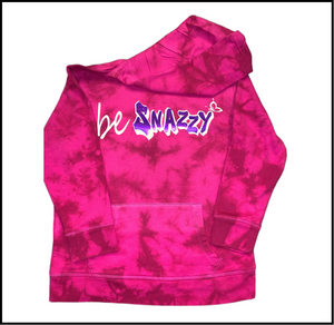 beSnazzy Tie-Dyed Hoodie