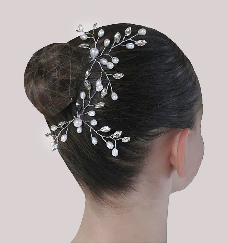 Pinces à chignon Florette  - Lot de 2