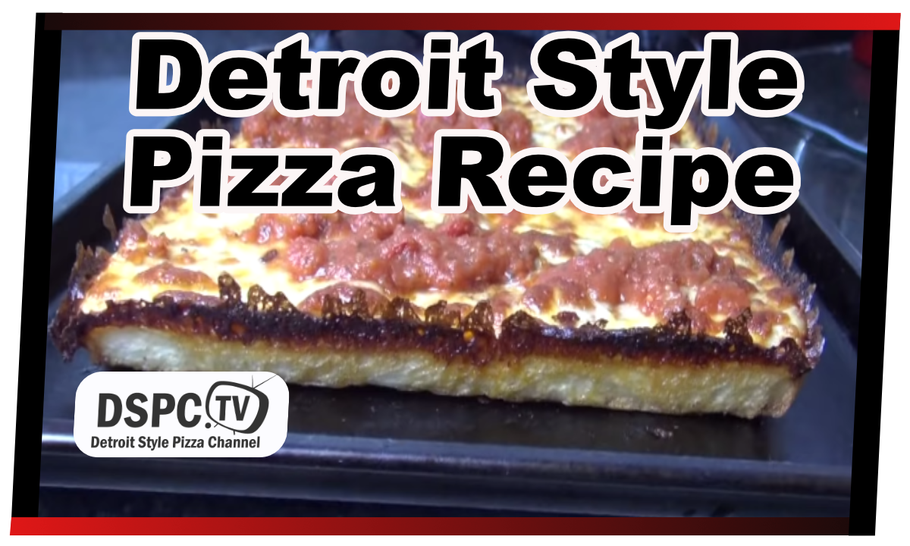 At Home Detroit Style Pizza Recipe